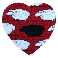 Sheep Jigsaw Puzzle (Heart)