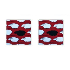 Sheep Cufflinks (Square)