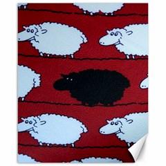 Sheep Canvas 16  x 20