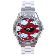 Sheep Stainless Steel Analogue Watch