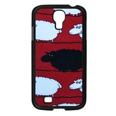 Sheep Samsung Galaxy S4 I9500/ I9505 Case (black)