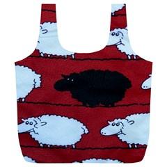 Sheep Full Print Recycle Bags (l)