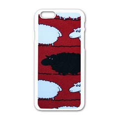 Sheep Apple Iphone 6/6s White Enamel Case