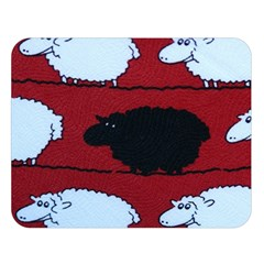 Sheep Double Sided Flano Blanket (Large)