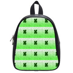 Shamrock Pattern School Bags (Small)
