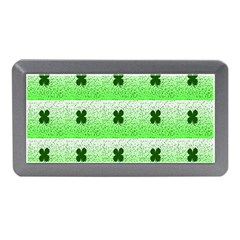 Shamrock Pattern Memory Card Reader (Mini)