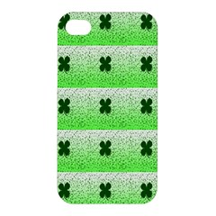 Shamrock Pattern Apple iPhone 4/4S Hardshell Case