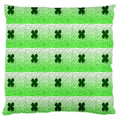 Shamrock Pattern Large Cushion Case (two Sides)