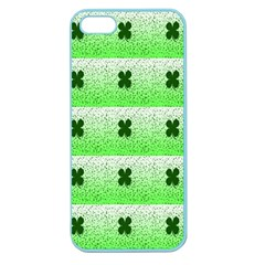 Shamrock Pattern Apple Seamless iPhone 5 Case (Color)