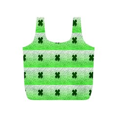Shamrock Pattern Full Print Recycle Bags (s)