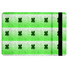 Shamrock Pattern iPad Air 2 Flip