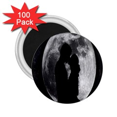 Silhouette Of Lovers 2.25  Magnets (100 pack)