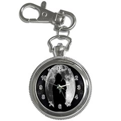 Silhouette Of Lovers Key Chain Watches