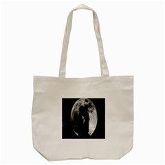 Silhouette Of Lovers Tote Bag (Cream)