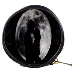 Silhouette Of Lovers Mini Makeup Bags