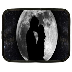 Silhouette Of Lovers Netbook Case (xxl)