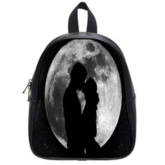 Silhouette Of Lovers School Bags (small)