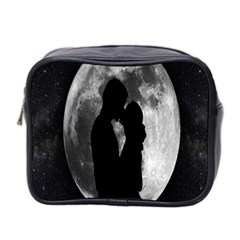 Silhouette Of Lovers Mini Toiletries Bag 2-Side