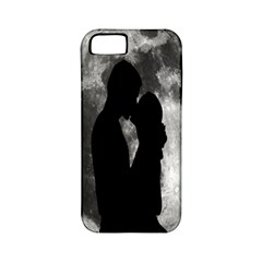 Silhouette Of Lovers Apple Iphone 5 Classic Hardshell Case (pc+silicone)