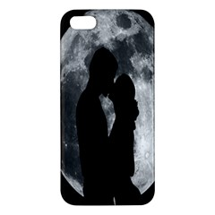 Silhouette Of Lovers Apple Iphone 5 Premium Hardshell Case
