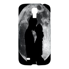 Silhouette Of Lovers Samsung Galaxy S4 I9500/i9505 Hardshell Case