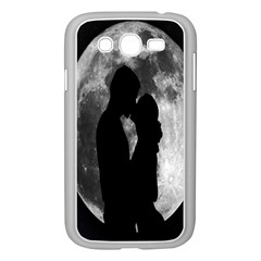 Silhouette Of Lovers Samsung Galaxy Grand Duos I9082 Case (white)
