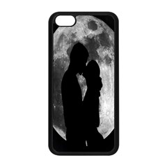 Silhouette Of Lovers Apple Iphone 5c Seamless Case (black)