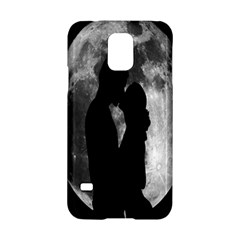 Silhouette Of Lovers Samsung Galaxy S5 Hardshell Case