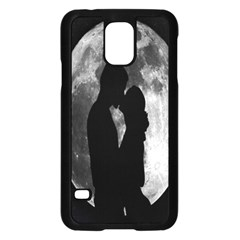 Silhouette Of Lovers Samsung Galaxy S5 Case (black)