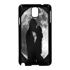 Silhouette Of Lovers Samsung Galaxy Note 3 Neo Hardshell Case (black)