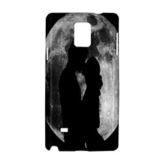 Silhouette Of Lovers Samsung Galaxy Note 4 Hardshell Case