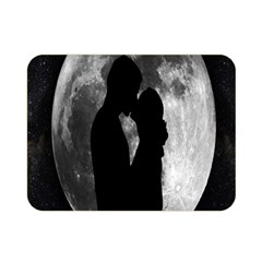 Silhouette Of Lovers Double Sided Flano Blanket (Mini)