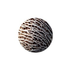 Seed Worn Lines Close Macro Golf Ball Marker (4 pack)