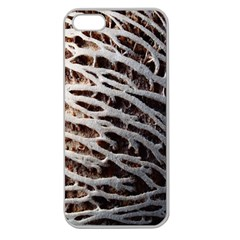 Seed Worn Lines Close Macro Apple Seamless iPhone 5 Case (Clear)