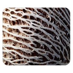 Seed Worn Lines Close Macro Double Sided Flano Blanket (small)