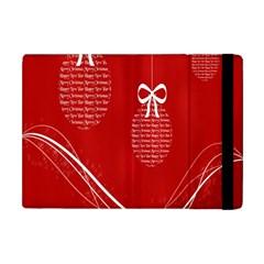Simple Merry Christmas Apple Ipad Mini Flip Case