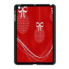 Simple Merry Christmas Apple Ipad Mini Case (black)