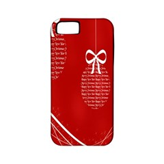 Simple Merry Christmas Apple Iphone 5 Classic Hardshell Case (pc+silicone)