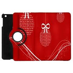 Simple Merry Christmas Apple Ipad Mini Flip 360 Case
