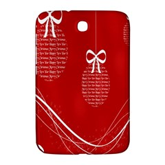 Simple Merry Christmas Samsung Galaxy Note 8 0 N5100 Hardshell Case