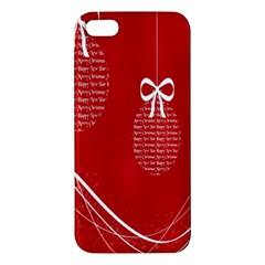 Simple Merry Christmas Iphone 5s/ Se Premium Hardshell Case