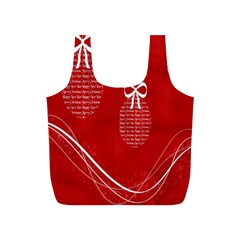 Simple Merry Christmas Full Print Recycle Bags (s)