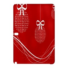 Simple Merry Christmas Samsung Galaxy Tab Pro 10 1 Hardshell Case