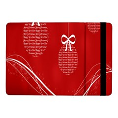 Simple Merry Christmas Samsung Galaxy Tab Pro 10 1  Flip Case