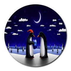 Small Gift For Xmas Christmas Round Mousepads