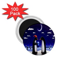 Small Gift For Xmas Christmas 1 75  Magnets (100 Pack)