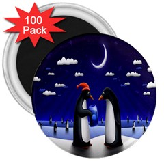 Small Gift For Xmas Christmas 3  Magnets (100 pack)
