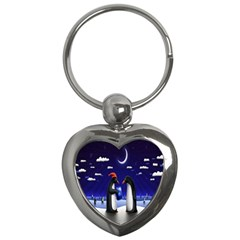 Small Gift For Xmas Christmas Key Chains (heart)