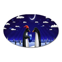 Small Gift For Xmas Christmas Oval Magnet