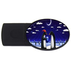 Small Gift For Xmas Christmas USB Flash Drive Oval (1 GB)